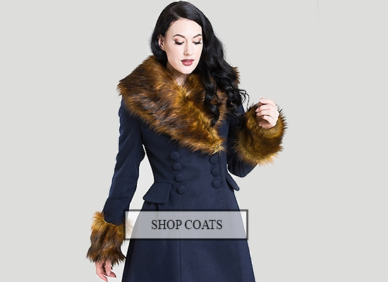 Hell bunny coats vintage retro swing coats prettykitty topvintage sale vintage clothing  london 2019  beyond retro sale portsmouth  vintage sale york vntage clothing sale bournemouth