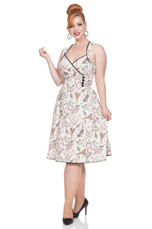 Voodoo Vixen Claudine Parisian Summer Dress