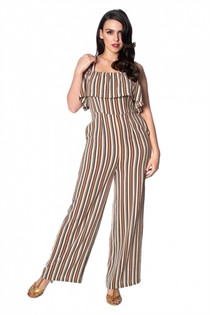 Banned Retro 70's Vintage Summer Salsa Rockabilly Jumpsuit