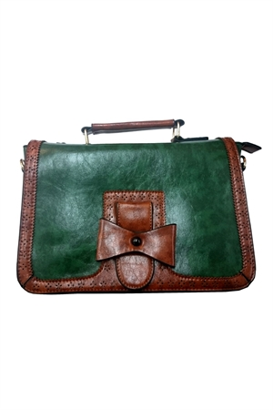 Dancing Days-Banned Retro Green Scandal Handbag