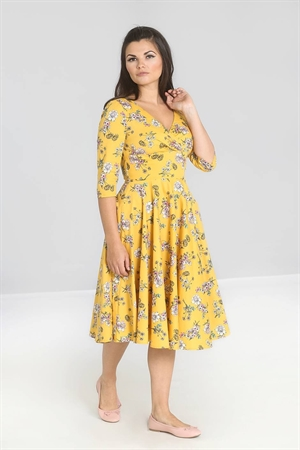 Hell Bunny Muriel 50's Floral Swing Dress
