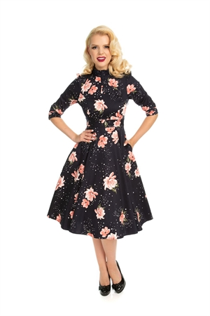 Hearts & Roses 50's Twilight Stardust Retro Swing Dress