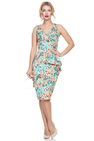 Voodoo Vixen Jessa Pencil Summer Dress