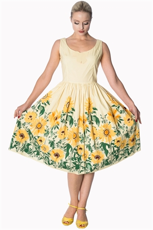 Banned Retro 50's Vintage Sunflower Rockabilly Sundress