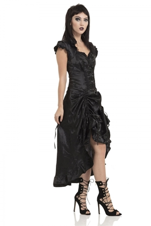 Voodoo Vixen Madame Of The House Chinese Goth Dress