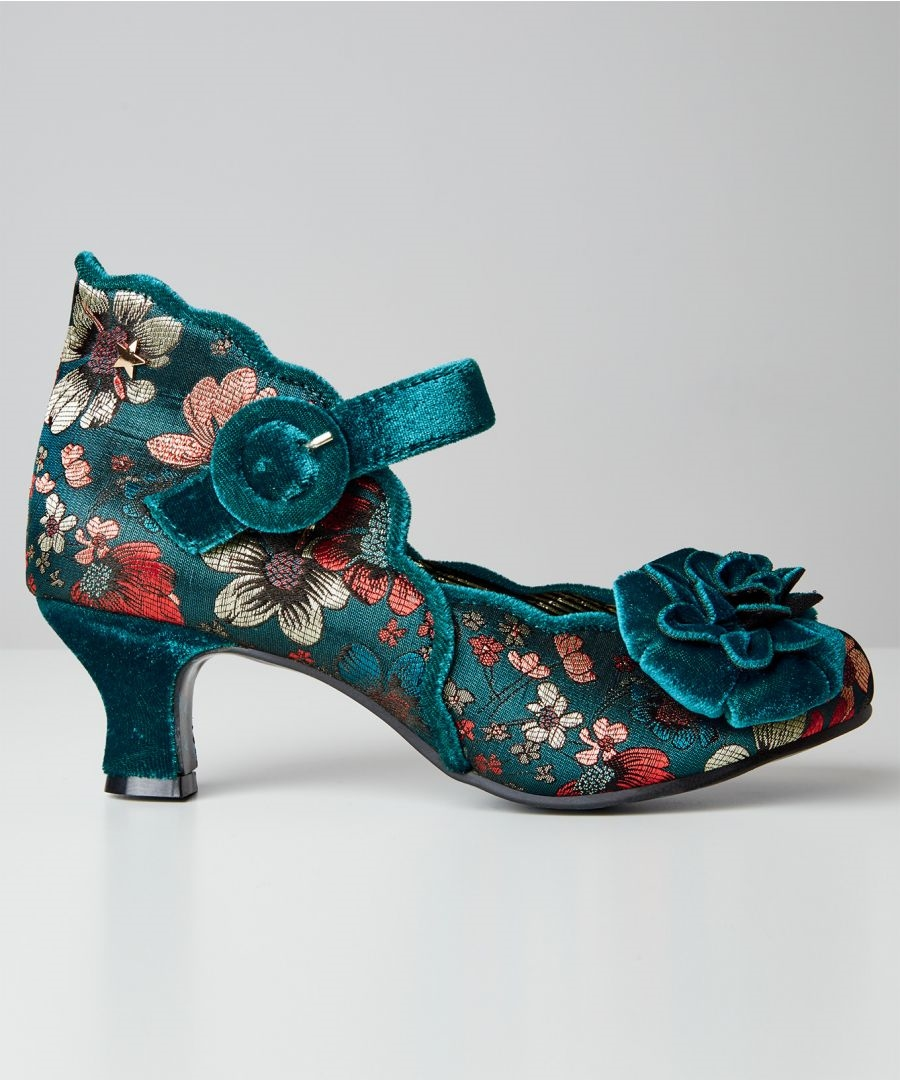 Joe Browns Teal Green Sparrow Couture