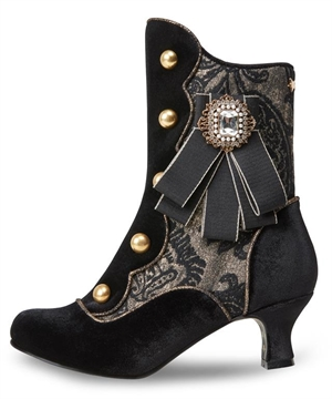 Joe Browns Couture Black Duke Victorian Boots