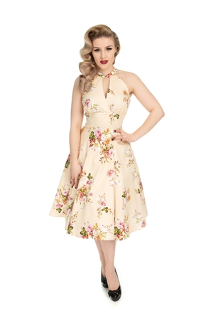 Hearts & Roses 50's Summer Mix Floral Swing Dress